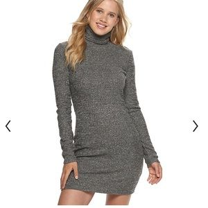 SO turtleneck Sweater Dress